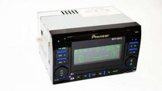 Автомагнитола 2din Pioneer 9903 USB+SD+AUX+пульт RGB подсветка