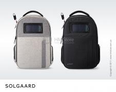 Backpack with anti-theft Solgaard Lifepack + solar Powerbank