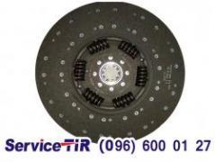 Clutch disc Duff XF95