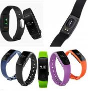 Fitness bracelet ID 107 - monitoring your heart rate during 24 cha