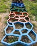 Форма для садовой дорожки Киев Садовая дорожка из бетона в Киеве