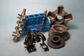 Mass production of cast iron castings