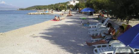 Property on the island, beautiful beaches and the sea. Croatia