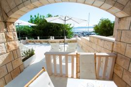 Summer on the sea. Croatia. Brela. Villa 30 m from the sea