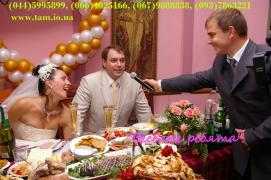 The master of ceremonies and music on wedding in Kiev! Live music, disco